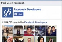 Facebook Like Box para sites