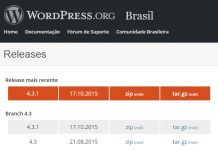 Ultima versão do WordPress